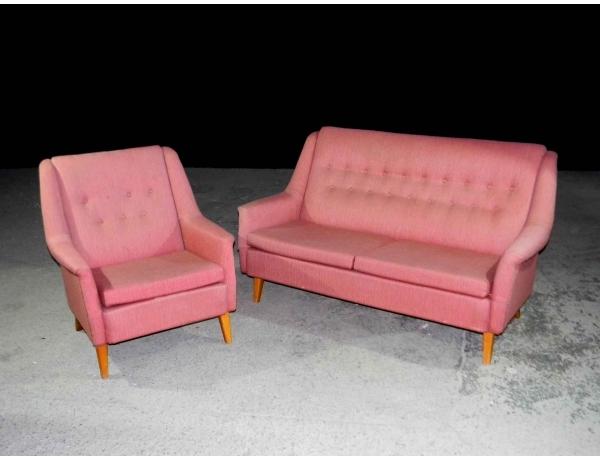 "Диван и кресло ""Capri"" Alf Svensson, AM0726"
