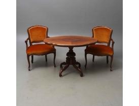 Журнальный стол и два кресла