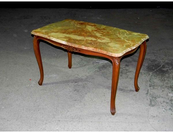 Журнальный стол с мраморной столешницей, AM0707