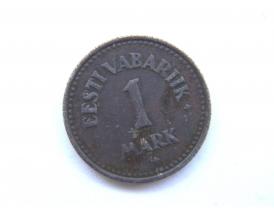1 марка Эстонской республики 1922 года