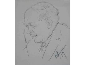 Рисунок карандашом Портрет