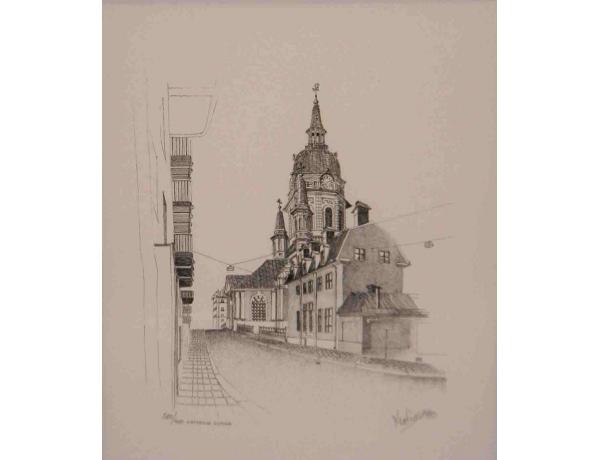Рисунок Церковь, AM1147