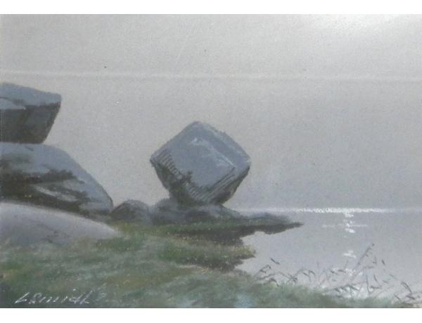 Joonistus Kivid järve kaldal, AM1349