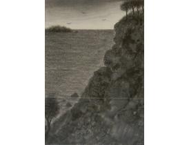 Joonistus Mäe nõlval 1934