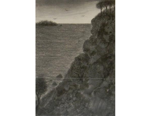 Joonistus Mäe nõlval 1934, AM1347