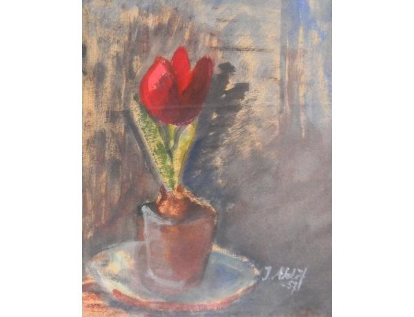 Joonistus Natüürmort 1957, AM1343