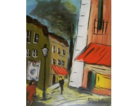 Рисунок Ретро бульвар