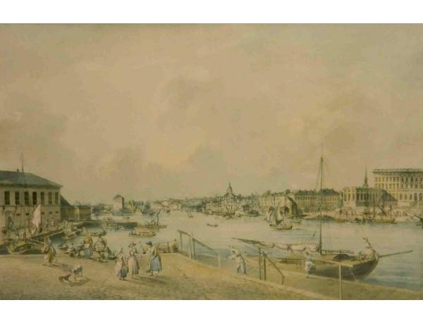 Рисунок Порт эпохи Рококо, AM1146
