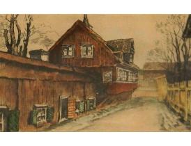 Joonistus Vana tänav