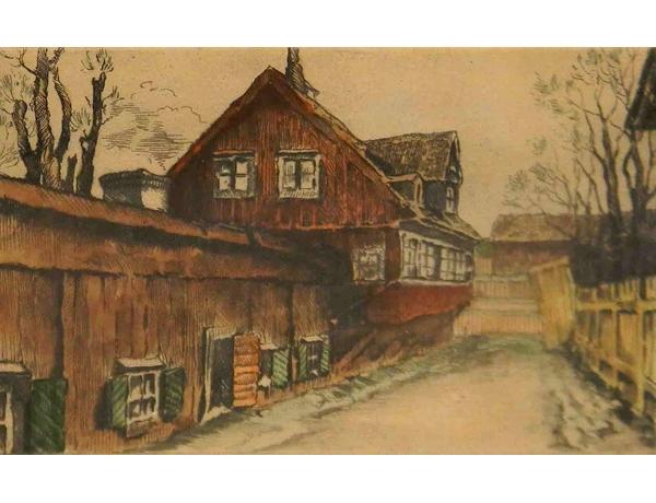 Joonistus Vana tänav, AM1139