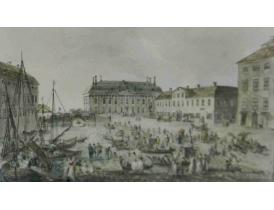 Joonistus Vanaaegne sadam