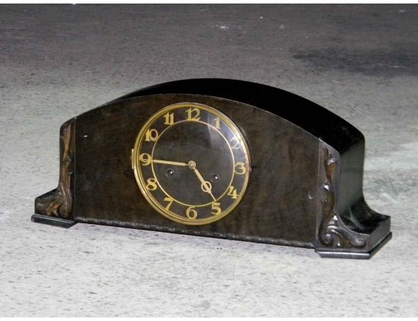 Каминные часы с резным декором, AM0616