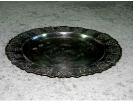 Поднос тарелка из нейзильбера