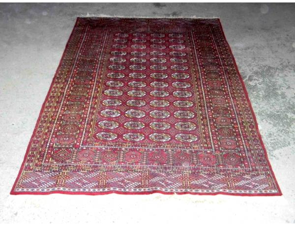 Шерстяной ковёр ручной работы 250 х 153 см, AM1109