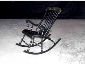 Кресло-качалка с ручной росписью