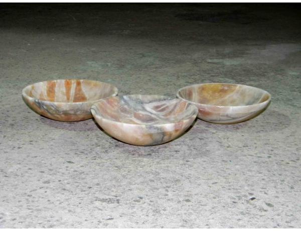 Три купола от люстры в стиле Ар-деко, AM0960