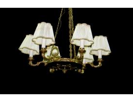 Королевская люстра с шестью светильниками