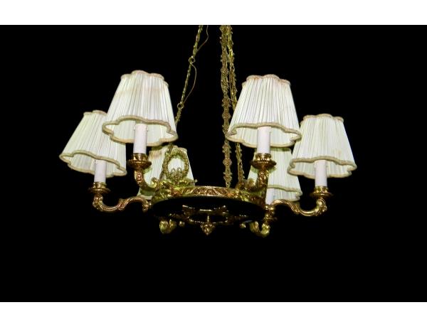 Королевская люстра с шестью светильниками, AM1396
