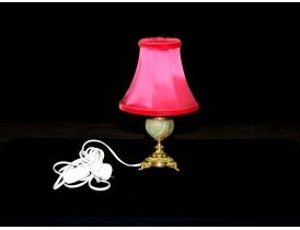 Настольная лампа с ножкой из алебастра