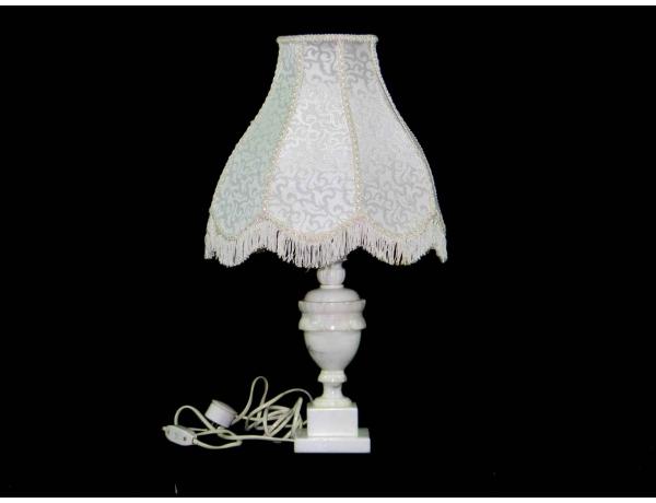 Настольная лампа с мраморной ножкой, AM0519