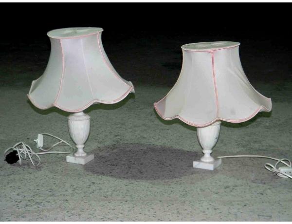 Laualamp marmorjalal roosa värvi lambivarjuga, AM1127