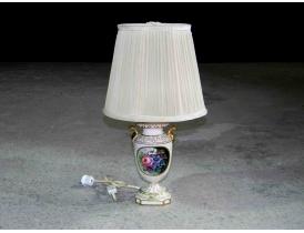 Настольная лампа из фарфора Романтика