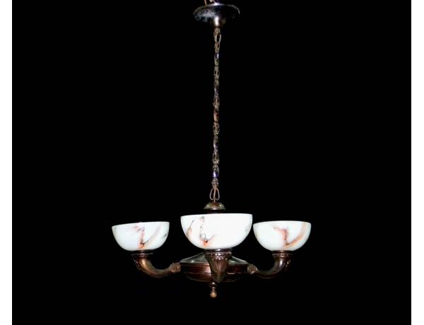 Люстра с тремя куполами, AM0625