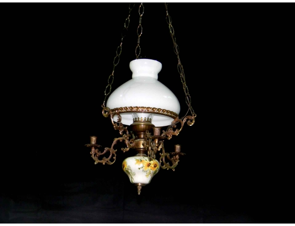 Люстра на манеру керосиновой лампы, AM0409