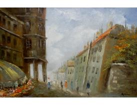 Картина маслом Абстрактный бульвар