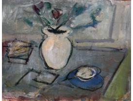 Картина маслом Абстрактный натюрморт Hamren