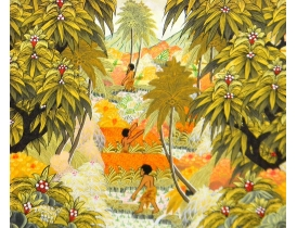Картина маслом Джунгли