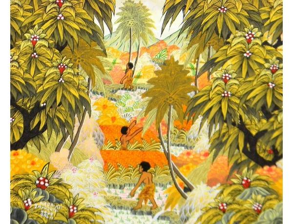 Картина маслом Джунгли, AM1246
