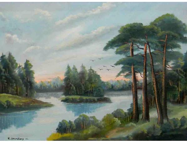 Картина E. Strandberg 1944, AM1050
