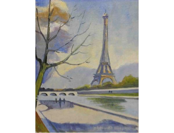 Õlimaal Eiffeli torn Sörensen, AM1093