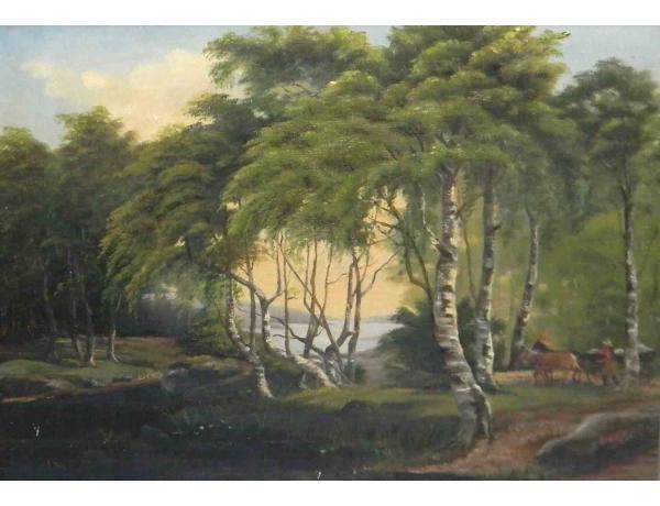 Õlimaal Hobuvanker metsas, AM0969