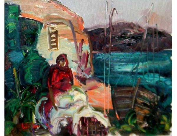 Картина Восточный всадник, AM0537