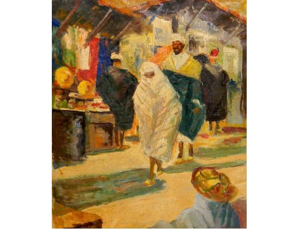 Картина Восточный рынок, AM0930