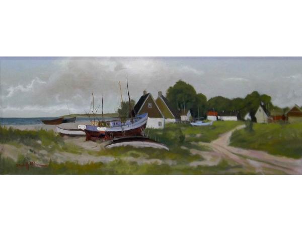 Картина Рыбацкий хутор, AM0668