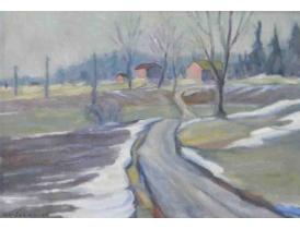 Картина Весна O.Raberg 1950