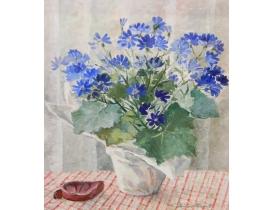 Картина маслом Ваза с цветами Stina Fant