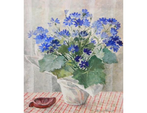 Õlimaal Lilledega vaas Stina Fant, AM1251