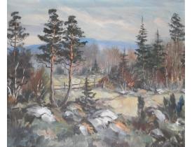 Картина маслом Пейзаж Göte Nilsson