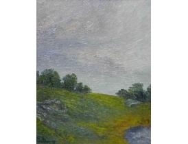 Картина Пейзаж на склоне горы