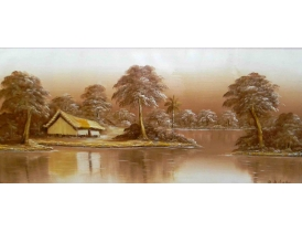 Õlimaal Maja jõe kaldal