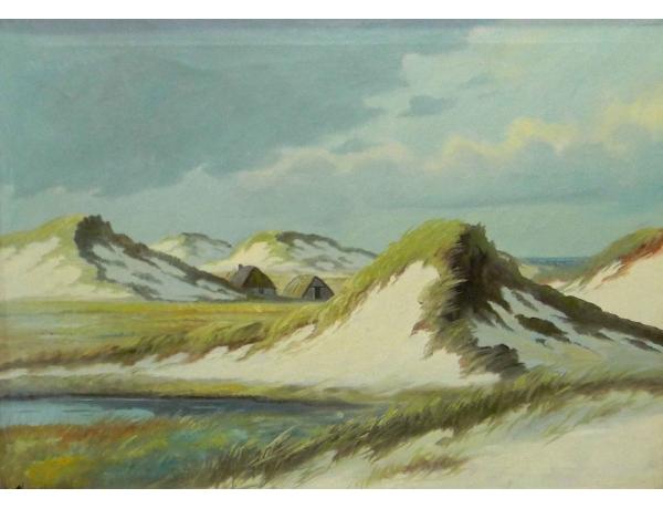 Картина Хижина на дюнах, AM0801