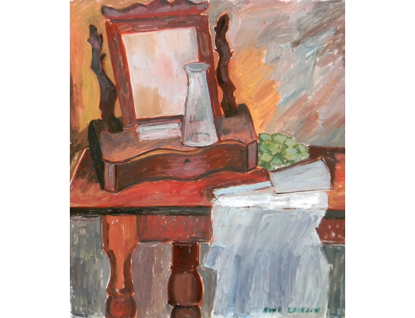 Картина маслом Стол для макияжа Rune Erikson, AM1401