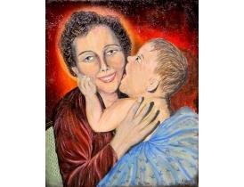 Картина Женщина с ребёнком