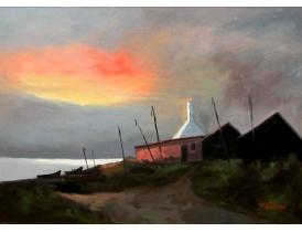 Õlimaal Päikesetõus Gustav Stenberg