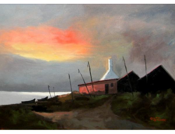 Õlimaal Päikesetõus Gustav Stenberg, AM1316