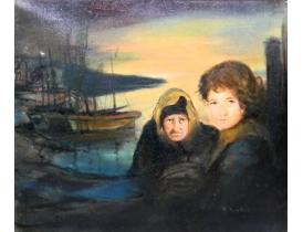 Картина маслом Побег Rick Arndal